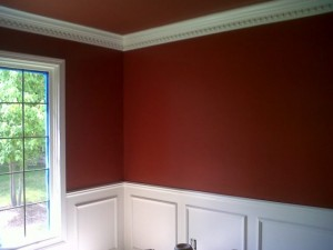 Northville Michigan residential painting project